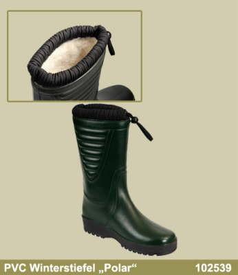 0a7a53d92d PVC Winterstiefel grün | Gummi-PVC-Stiefel | Sicherheitsschuhe ...